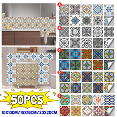 Bathroom, Waterproof, Home & Living, Stickers