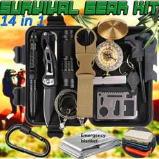 Flashlight, campsurvival, outdoorcampingaccessorie, Exterior