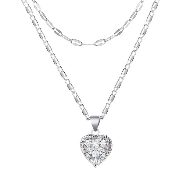Heart, Fashion, Chain, necklace for women