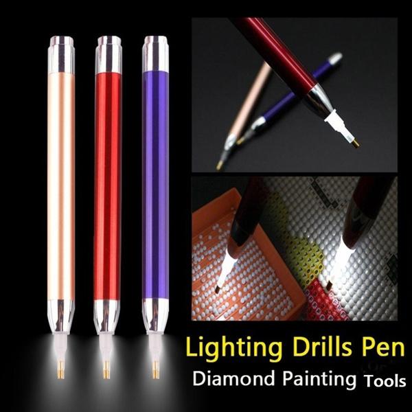Crystal 5D Diamond Painting Point Drill Pen Lighting Diamond Painting Tool~2020