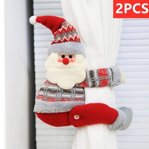 snowman, elk, windowchristmasdecoration, Christmas