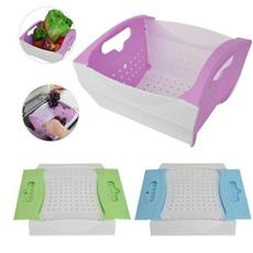 vegetablecolander, vegetablebasket, Kitchen & Dining, collapsiblecolander
