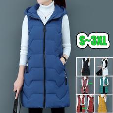 Jacket, Vest, hooded, Waist Coat