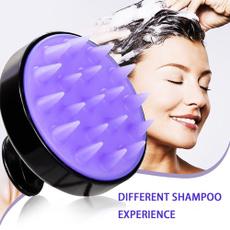 Bathroom Accessories, Silicone, scalpmassager, Shampoo