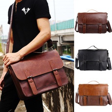 homeampoffice, Briefcase, Messenger Bags, leather