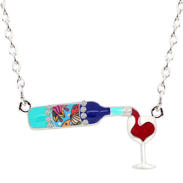 Chain, Glass, Choker, Rhinestone