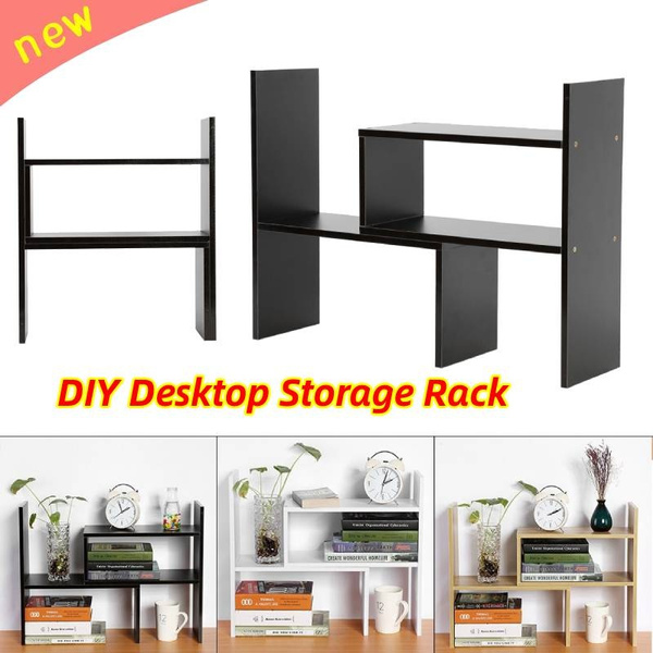 deskstoragerack, Home Decor, desktopbookcase, Home & Living