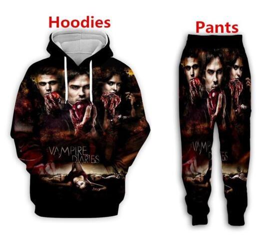 womenjoggerspant, vampirediarie, 3d sweatshirt men, tracksuits sportswear women