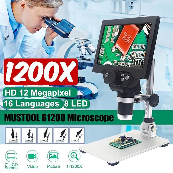 portablemicroscope, studentmicroscope, Monitors, microscopewithled