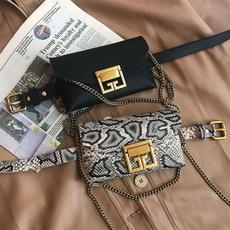 Mini, Waist, Shoulder Bags, leather