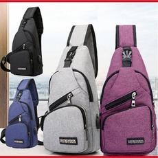 Outdoor, Capacity, unisexbag, Casual bag