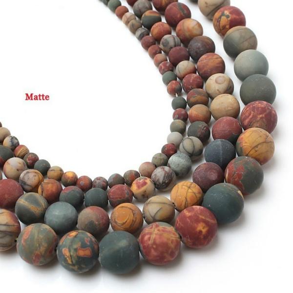 Fashion, Jewelry, mattepicassojasperstone, Bracelet