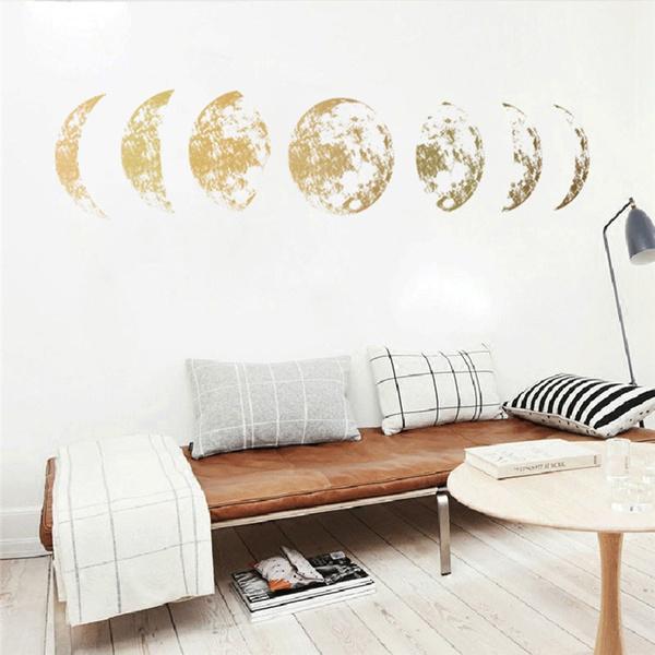 golden, Star, 3dwallsticker, Simple