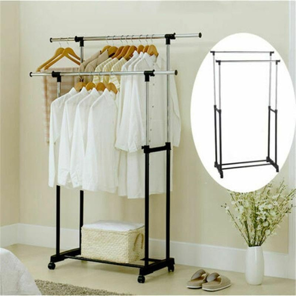 Steel, Modern, Shelf, clothesrack
