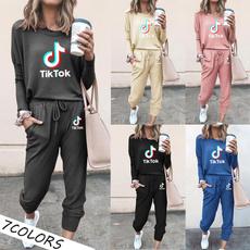 Two-Piece Suits, hoodiespantsset, pants, Long Sleeve
