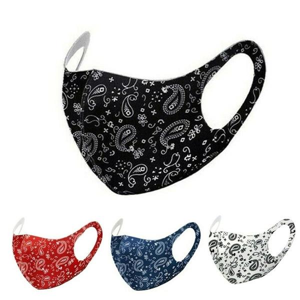 Fashion, dustmask, paisleystyle, Masks