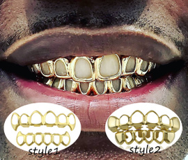 goldplated, grillz, vampirecostume, hip hop jewelry