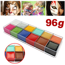 bodypaintingkit12colour, Makeup Palettes, paintingpalettesset, Kit