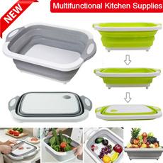 foldingbasket, foldingvagetablebasket, Kitchen & Dining, collapsiblecuttingboard
