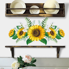 Decor, Home Decor, Sunflowers, Wall Decal
