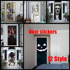 windowsticker, doorsticker, halloweensticker, Glass