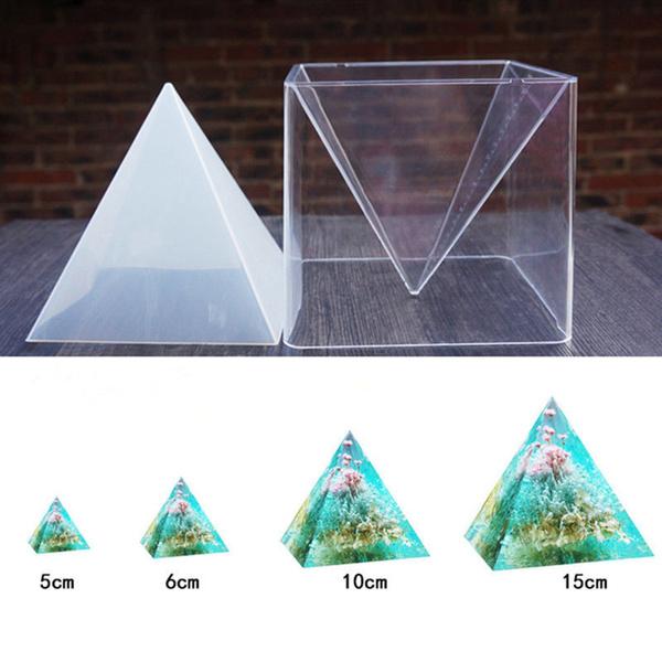 pyramid, Jewelry, Silicone, resinmold