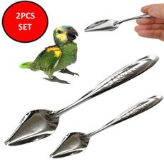 petfeedingsupplie, Steel, petfeedingspoon, birdfeedingsyringe