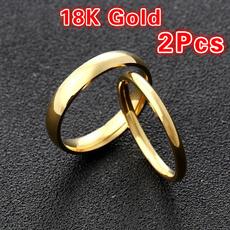 engagementringset, ringsforcouple, wedding ring, gold