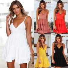 Mini, Plus Size, partydressesforwomen, Lace