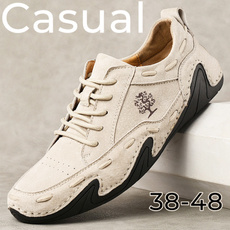 Flats & Oxfords, boatshoesformen, casual leather shoes, casual shoes for men