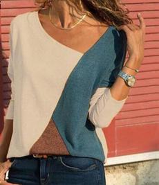blouse, Summer, patchworktop, Plus Size