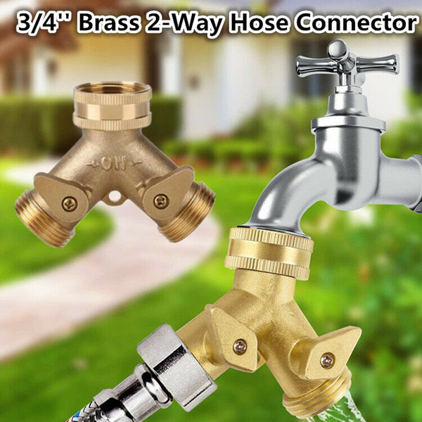 Watering Equipment, Brass, watersplitter, 2waywaterdistributor