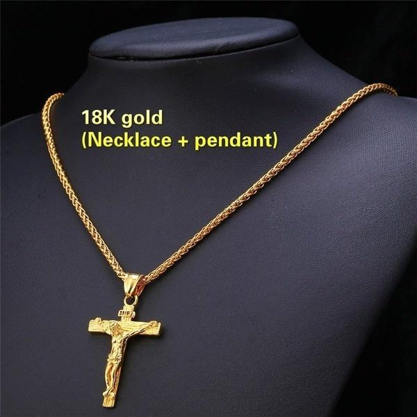 jesusreligiousjewelry, 18k gold, jesus, Jewelry