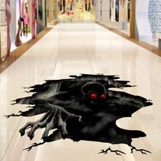 halloweenmonsterwallsticker, Wall Art, scary, Wall Decal