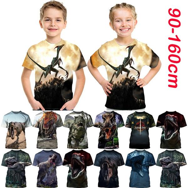 Summer, dinosaurshirt, Fashion, kids clothes