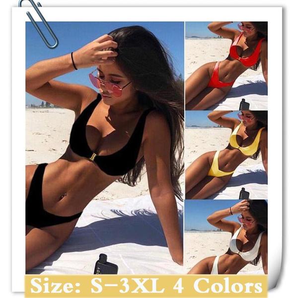 bohemia, bathing suit, Plus Size, bikini set