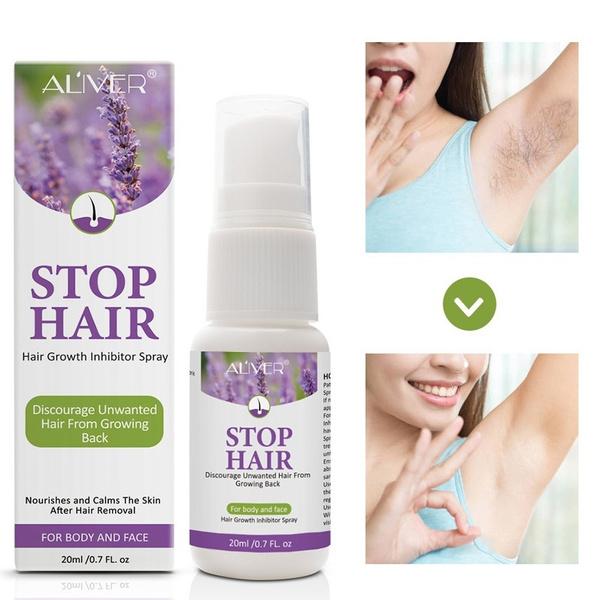 hairgrowthinhibitoressence, unisex, essence, hairremovalspray