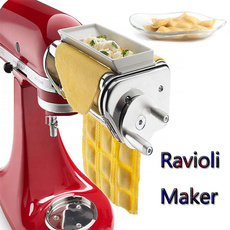 Steel, Kitchen & Dining, stainlesssteelmachine, raviolimaker