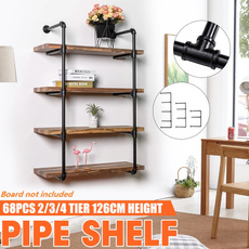 Home Decor, Shelf, ironpipeshelf, Decor