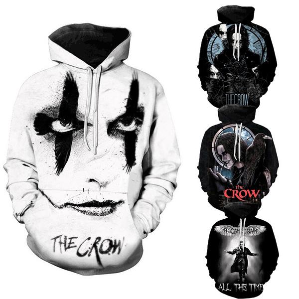 3D hoodies, horse, thecrow, Coat