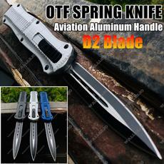 Outdoor, Aluminum, springknifemicrotechotf, switchblade