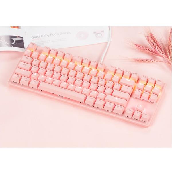 pink, gamingkeyboardmechanical, usb, pinkmechanicalkeyboard