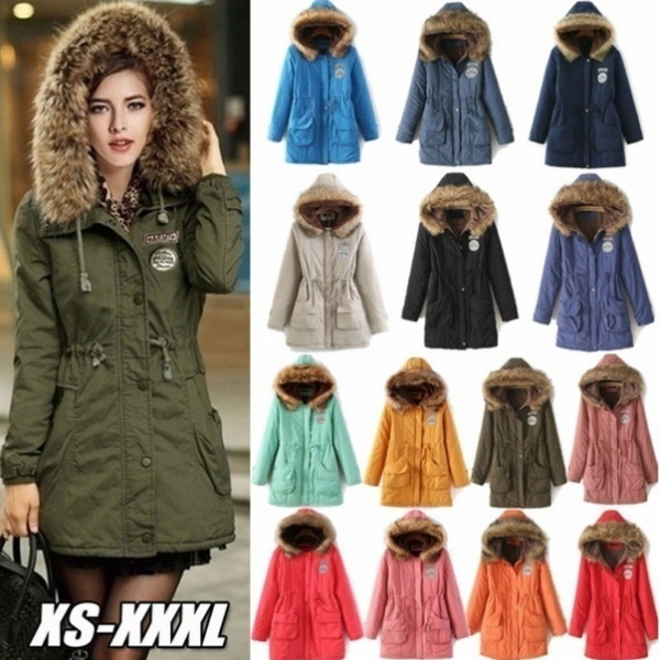 fur coat, Plus Size, fur, Long Coat