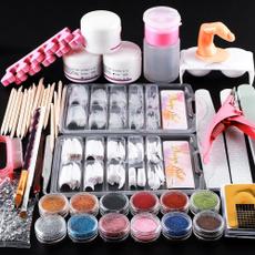 Nails, art, Beauty, acrylicpowder