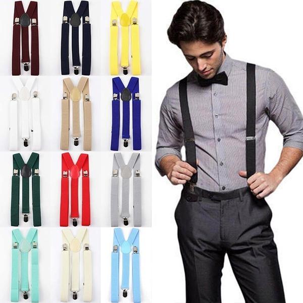 belts and suspenders, Buckle-Belt, Elastic, adjustablebelt