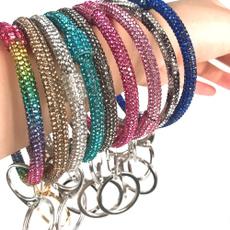 sparklebraceletkeyring, Key Chain, Jewelry, Women jewelry