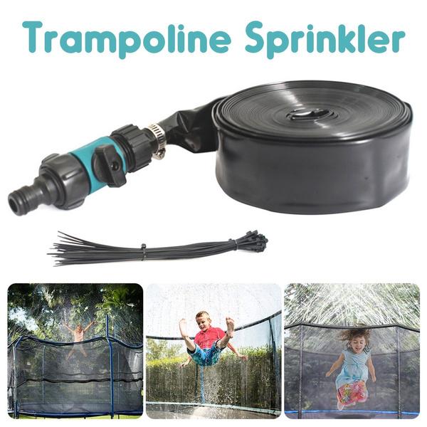 Summer, Outdoor, Garden, trampolinesprinklerhose