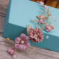 Handmade, Flowers, Jewelry, Wedding Accessories