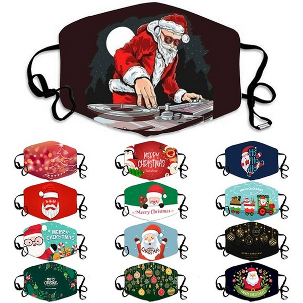 cartoonmask, Holiday, mouthmask, Christmas