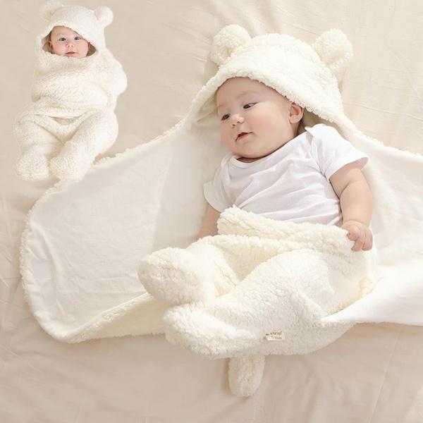 sleepingbag, babysleepingbag, Plush, warmblanket